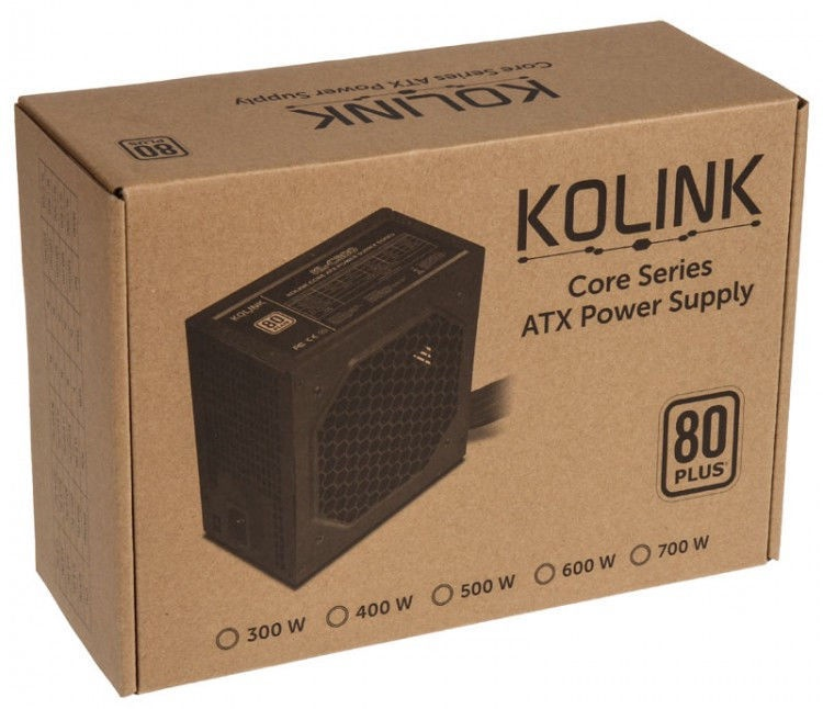 Kolink Core 80 Plus PSU 500W