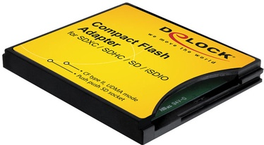 Mälukaardilugeja Delock Compact Flash Adapter for SD / MMC