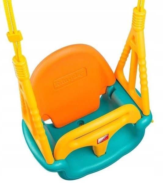 EcoToys Bucket Garden Swing 3 in 1 Orange/Blue