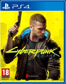 Spēle CYBERPUNK 2077 PS4 UPGRADE PS5