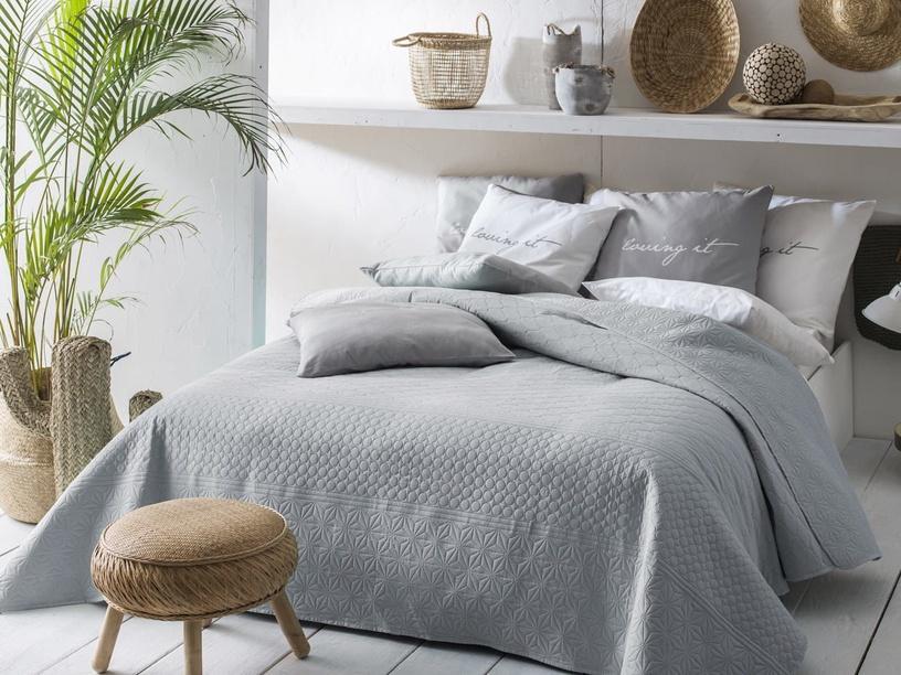 Room99 Bueno Bedspread 220x240cm Grey