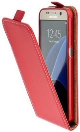 Forcell Flexi Vertical Slim Flip Case For Sony Xperia XZ/XZ Dual Red