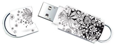 Integral 8GB Xpression Pattern Flowers