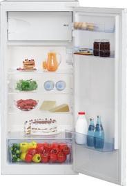 Встраиваемый холодильник Beko BSSA210K3SN, морозильник сверху