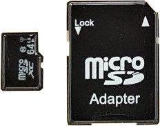 Карта памяти IMRO 10 64GB MicroSDXC Class 10 UHS-I + Adapter