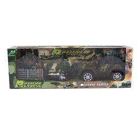 Žaislinė karinė mašina su priedais