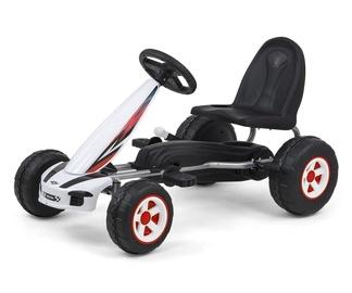 Milly Mally Viper Pedal Go-Kart White