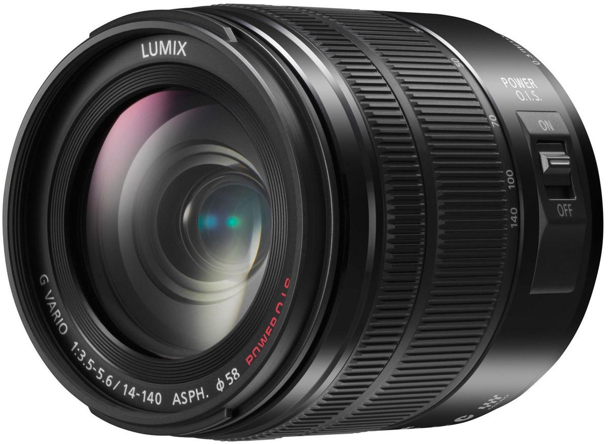 2ff3d72a109 Panasonic LUMIX G VARIO 14-140mm/F3.5-5.6 ASPH Power O.I.S. Black OEM
