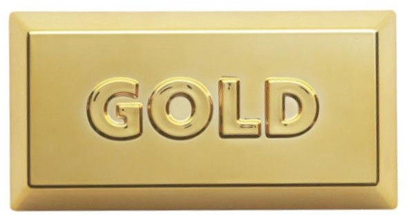 ViceVersa Kitchen Scale 5kg Gold 12982