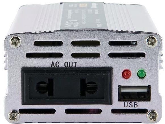 Whitenergy Mini Power Inverter 12V DC To 230V AC USB 150W