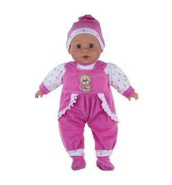 Lėlė su rožiniais drabužiais
