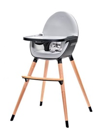Maitinimo kėdutė KinderKraft Fini 2in1 Black