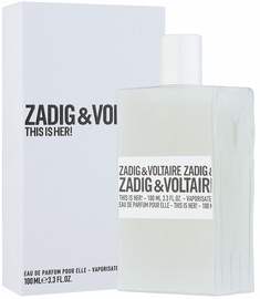 Kvepalai Zadig & Voltaire This is Her! 100ml EDP