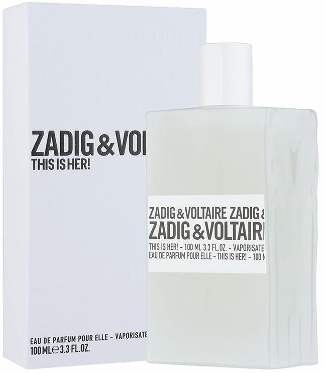 Parfüümvesi Zadig & Voltaire This is Her! 100ml EDP