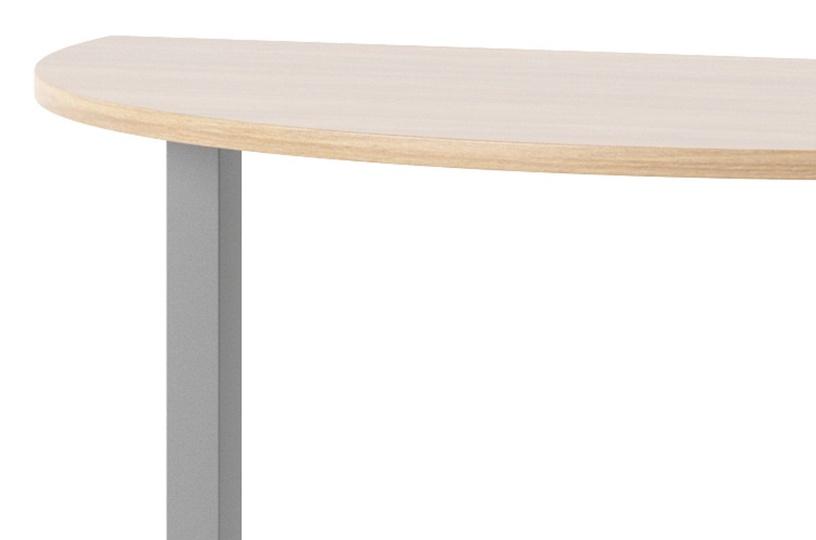 Szynaka Meble Omega 14 Desk Connector Amber Oak/Graphite