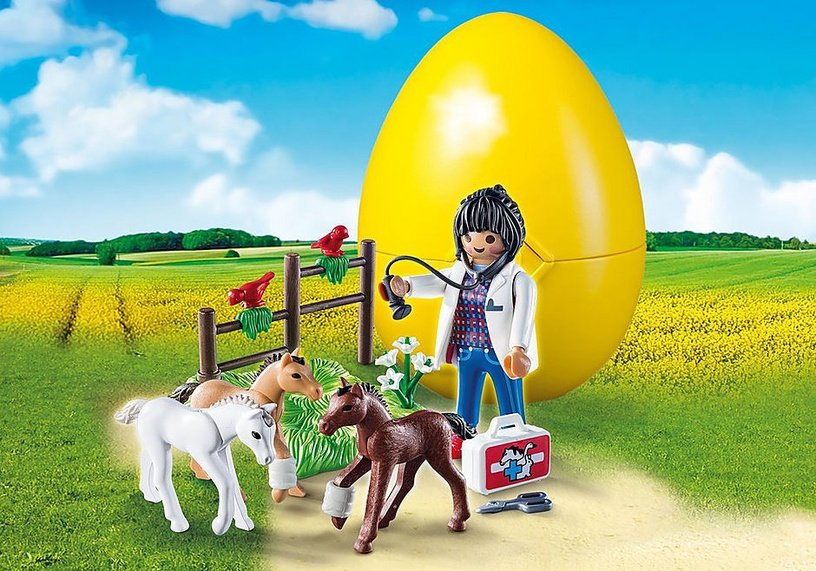 Playmobil Vet With Foals 9207