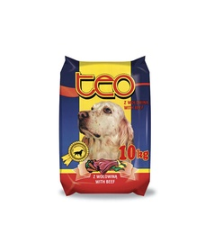 Suņu barība Teo ar liellopa gaļu 10kg