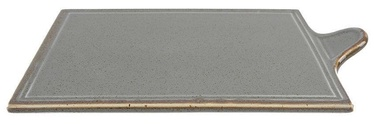 Porland Seasons Cheese Serving Plate 30x18.1cm Dark Grey