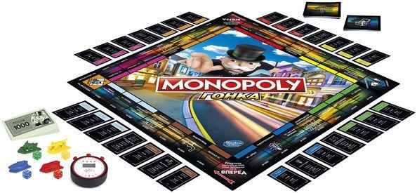 Stalo žaidimas Hasbro Monopoly Speed, RUS