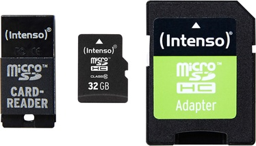 Intenso 32GB MicroSDHC Class 10 + Adapter Set 3413780