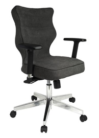Entelo Nero Poler Chrome Office Chair AT33 Grey