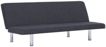 Диван-кровать VLX Polyester 282193, серый, 168 x 76 x 66 см