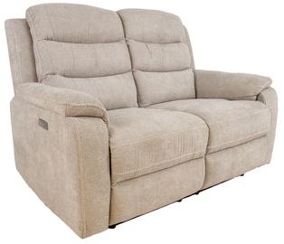 Dīvāns Home4you Mimi 14085, smilškrāsas, 93 x 153 x 102 cm