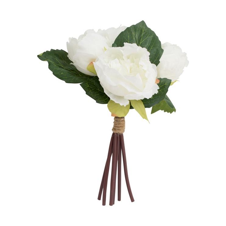 Букет искусственных цветов SN Artificial Bouquet 29cm HY08.MIX White/Green