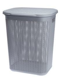 Ящик для белья Galicja Willow Laundry Basket Light Grey 50l