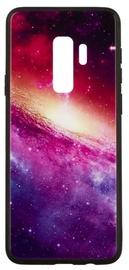 TakeMe Glass Glossy Back Case For Samsung Galaxy S8 Purple Galaxy