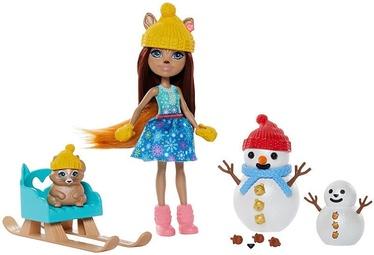 Кукла Mattel Enchantimals Snowman Face Off Set GNP16