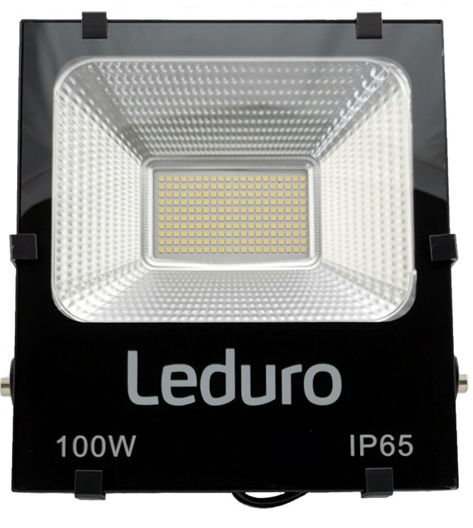 Leduro PRO 100 Floodlight 100W 4500K IP65 Black