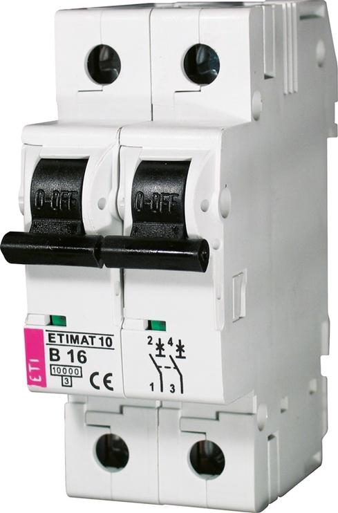 Automatinis jungiklis Eti MAT10, 2P, C, 16A, 10kA