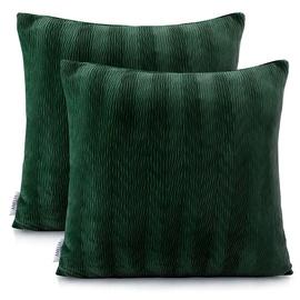 Наволочка AmeliaHome Nancy Pillowcase 45x45 Green 2pcs