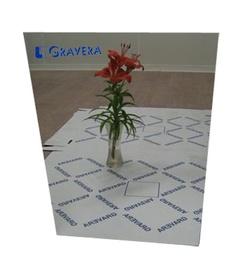 Veidrodis Gravera, klijuojamas, 0,3 x 80 x 50 cm