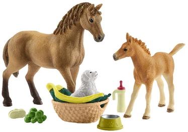 Rotaļlietu figūriņa Schleich Horse Club Sarahs Baby Animal Care 42432