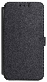 Mocco Shine Book Case For Samsung Galaxy J6 Plus J610 Black
