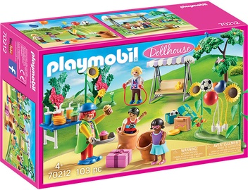 Playmobil Dollhouse Childrens Birthday Party 70212