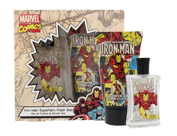 Marvel Invincible Iron Man 75ml EDT + Shower Gel 150ml