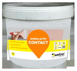 Kontaktinis gruntas Weber Primcontact, 12 kg