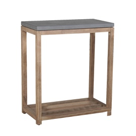 Home4you Sandstone Shelf 65.5x34.5x75cm Grey/Brown