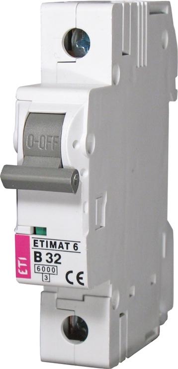 Automatinis jungiklis ETIMAT 10, 1P, C, 25A, 10kA