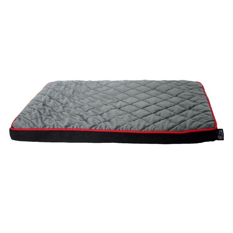 SN Cushion Black/Grey L 100x70x8cm