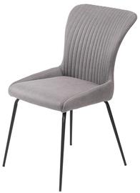 Halmar K341 Chair Grey/Black