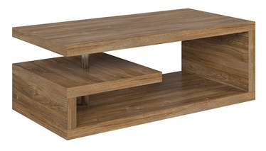 Kafijas galdiņš Black Red White Glimp Stirling Oak, 1200x600x450 mm