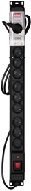 ActiveJet Surge Protector 12 Outlet Black 5m