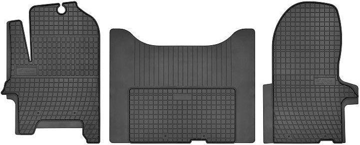 Резиновый автомобильный коврик Frogum Iveco Daily 2006, 3 шт.