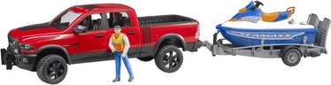 Bruder RAM 2500 Power Wagon With Trailer 02503