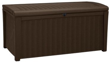 Mantu kaste Keter Borneo Outdoor Plastic Storage Box 416l Brown