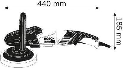 Bosch GPO 14 CE Polisher